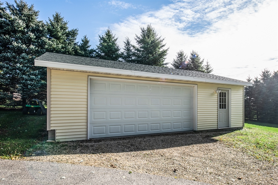 Real Estate Photography - W3341 Spring Drive, Campbellsport, WI, 53010 - Garage