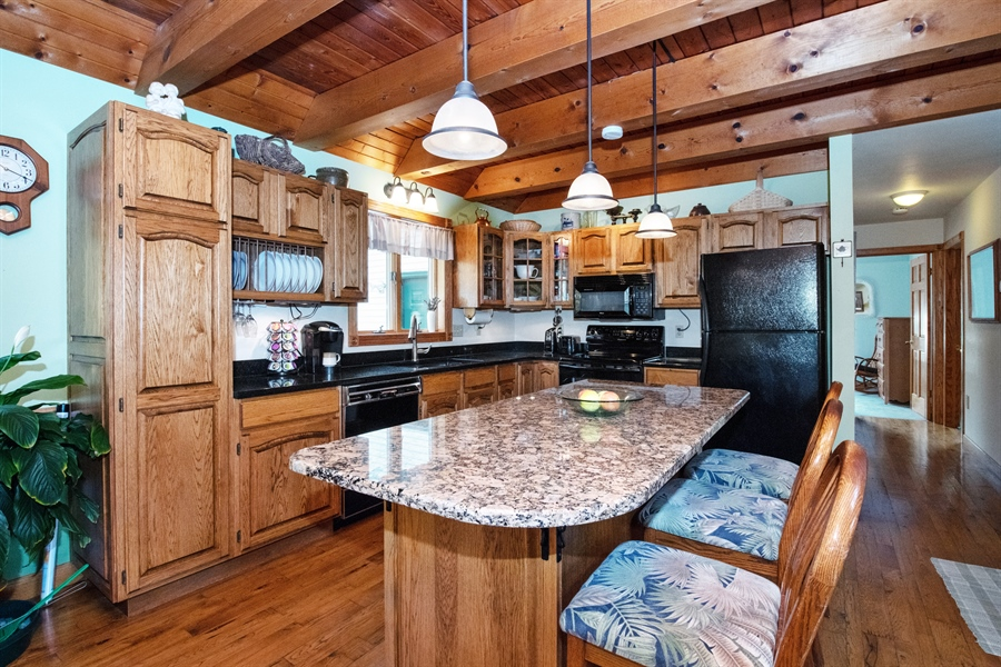 Real Estate Photography - W3341 Spring Drive, Campbellsport, WI, 53010 - Kitchen