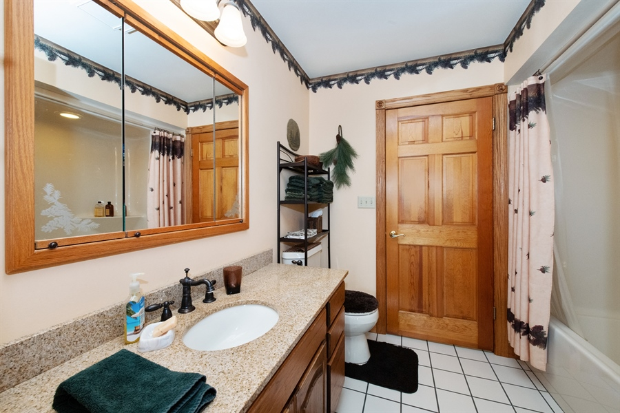 Real Estate Photography - W3341 Spring Drive, Campbellsport, WI, 53010 - Bathroom
