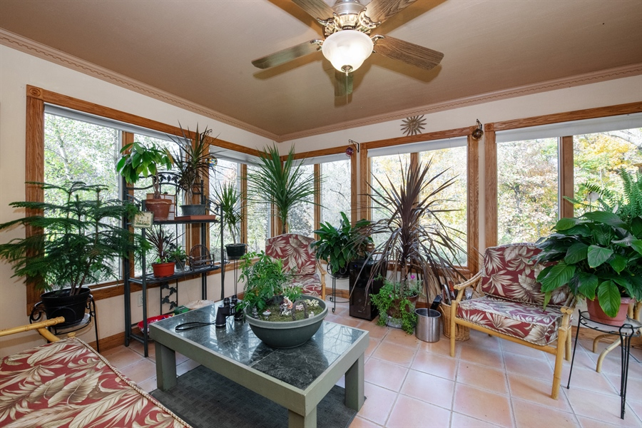 Real Estate Photography - W3341 Spring Drive, Campbellsport, WI, 53010 - Sun Room