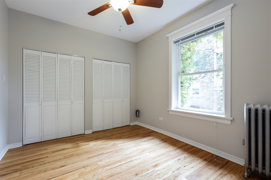 Real Estate Photography - 1349 W. Sunnyside, 1, Chicago, IL, 60640 - 2nd Bedroom