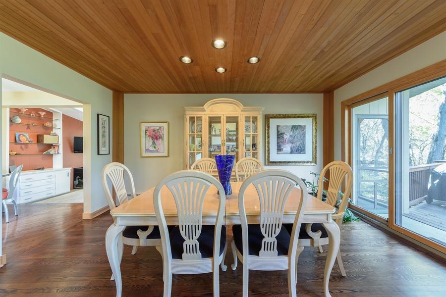 Real Estate Photography - 3417 E Mardan Dr, Long Grove, IL, 60047 - Dining Room