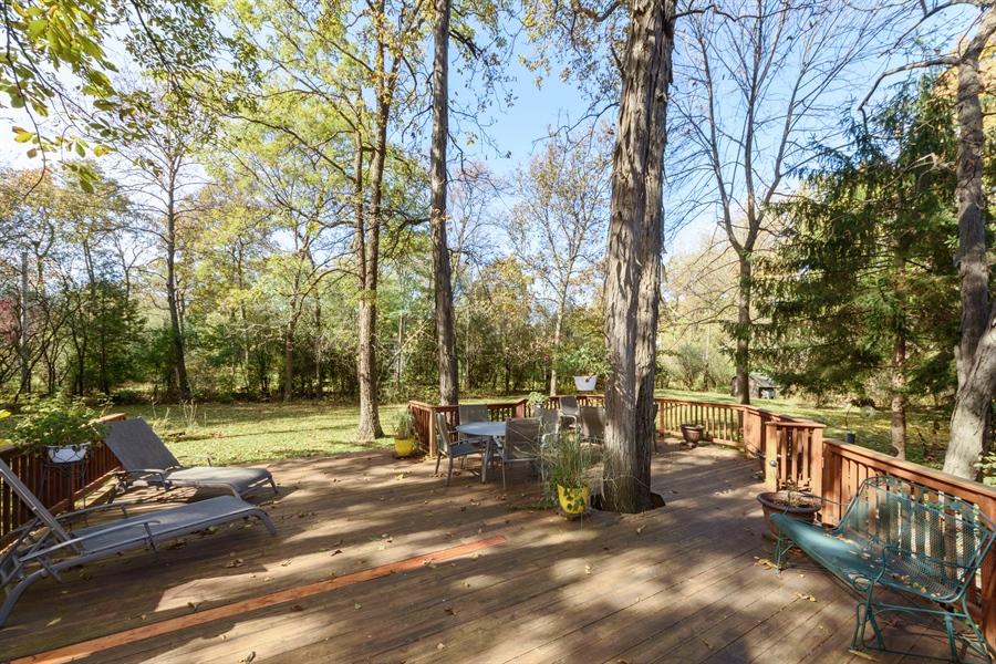 Real Estate Photography - 3417 E Mardan Dr, Long Grove, IL, 60047 - Deck