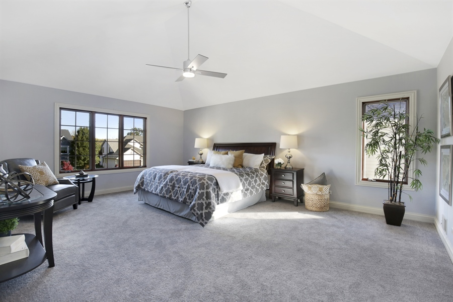 Real Estate Photography - 521 Ford LN, Bartlett, IL, 60103 - Master Bedroom