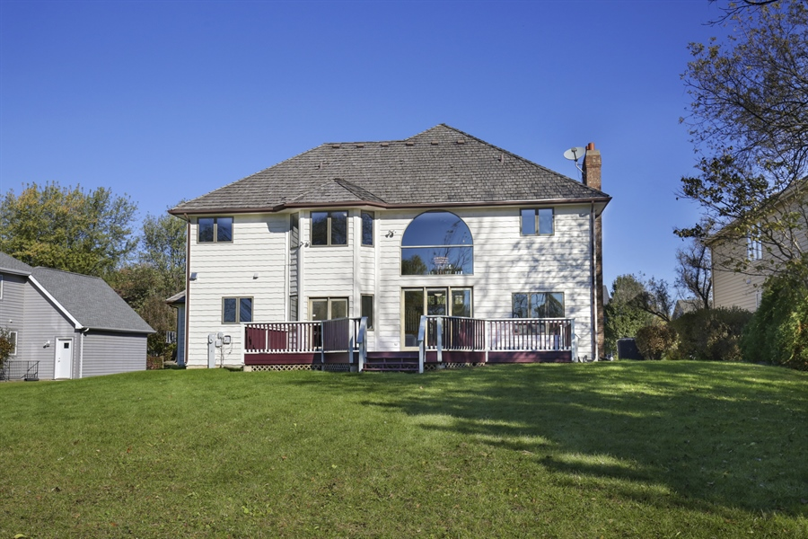 Real Estate Photography - 521 Ford LN, Bartlett, IL, 60103 - Rear View