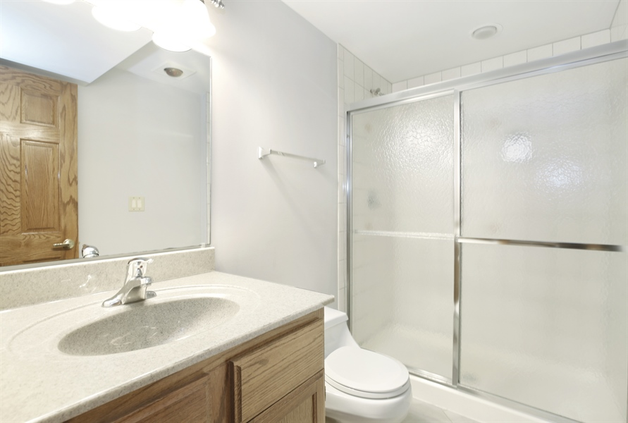 Real Estate Photography - 521 Ford LN, Bartlett, IL, 60103 - 2nd Bathroom