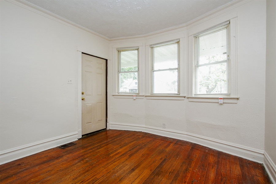 Real Estate Photography - 6638 S Seeley, Chicago, IL, 60636 - 1st Floor Living Room
