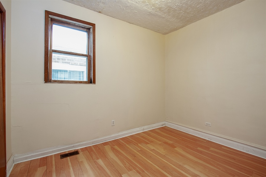Real Estate Photography - 6638 S Seeley, Chicago, IL, 60636 - 1st Floor Bedroom