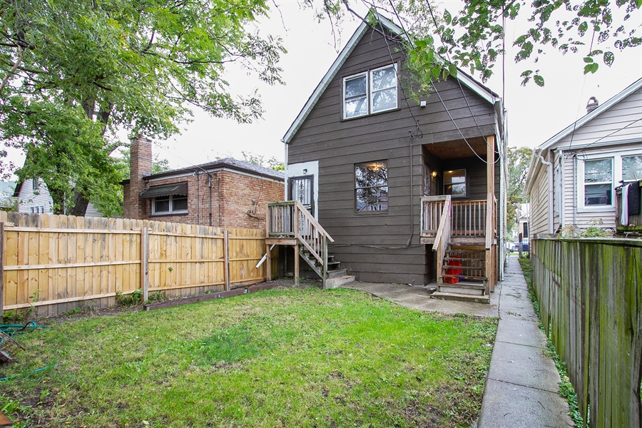 Real Estate Photography - 6638 S Seeley, Chicago, IL, 60636 - Rear View