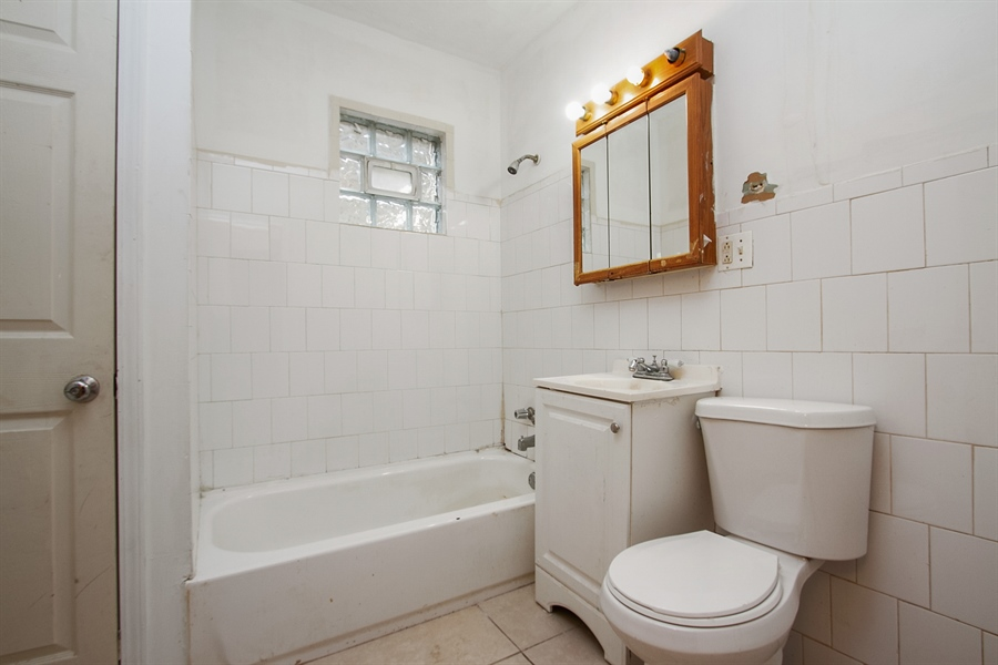 Real Estate Photography - 6638 S Seeley, Chicago, IL, 60636 - !st Floor Bathroom