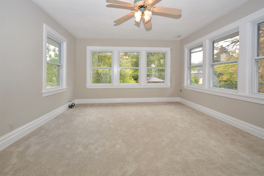 Real Estate Photography - 129 N. Catherine Avenue, La Grange, IL, 60525 - Bedroom