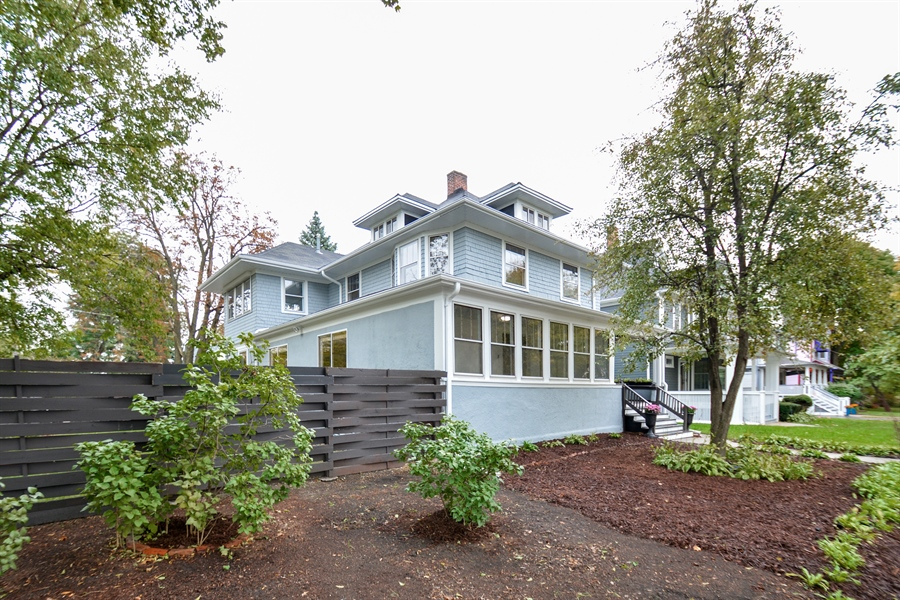 Real Estate Photography - 129 N. Catherine Avenue, La Grange, IL, 60525 - Front View