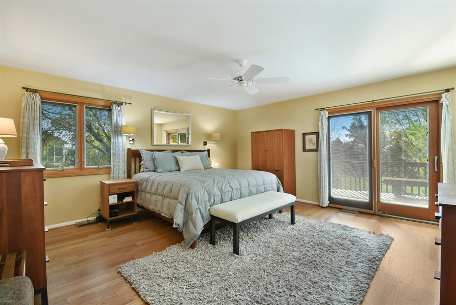 Real Estate Photography - 2120 Applecross, Inverness, IL, 60010 - Master Bedroom