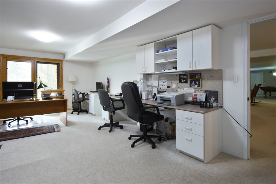 Real Estate Photography - 2120 Applecross, Inverness, IL, 60010 - Office