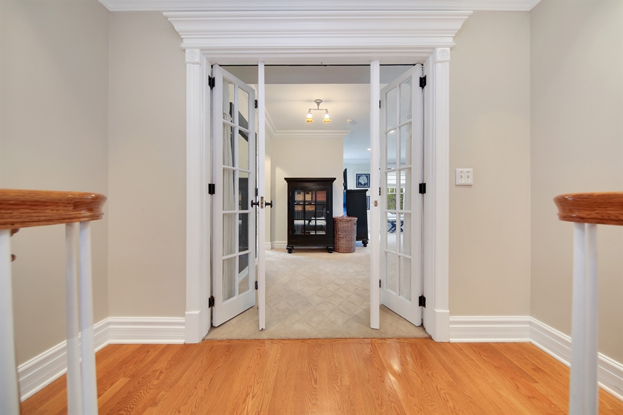 Real Estate Photography - 4325 Grand Avenue, Western Springs, IL, 60558 - Master Bedroom Entry