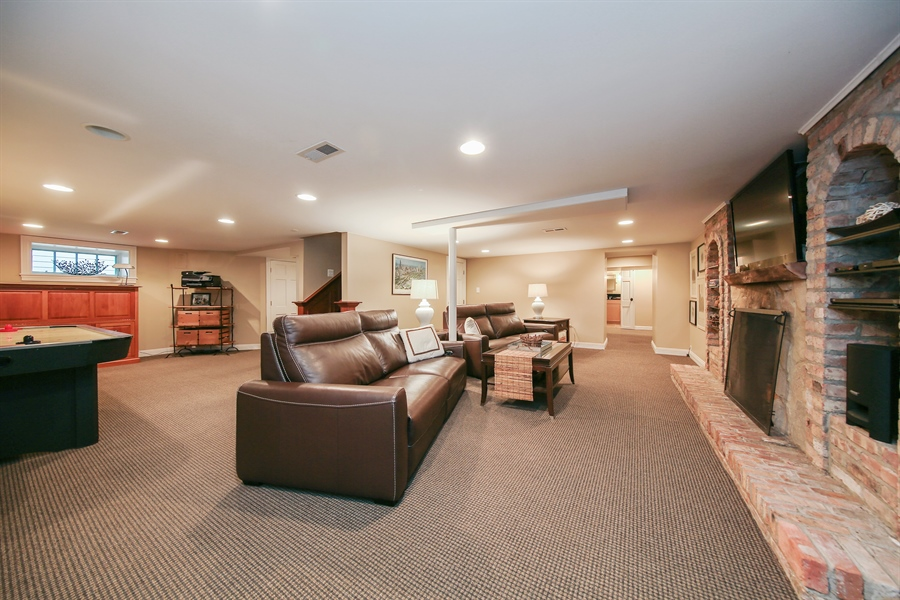 Real Estate Photography - 4325 Grand Avenue, Western Springs, IL, 60558 - Lower Level