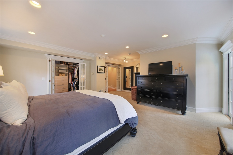 Real Estate Photography - 4325 Grand Avenue, Western Springs, IL, 60558 - Master Bedroom