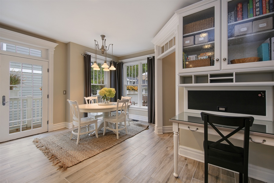 Real Estate Photography - 4325 Grand Avenue, Western Springs, IL, 60558 - Breakfast Area