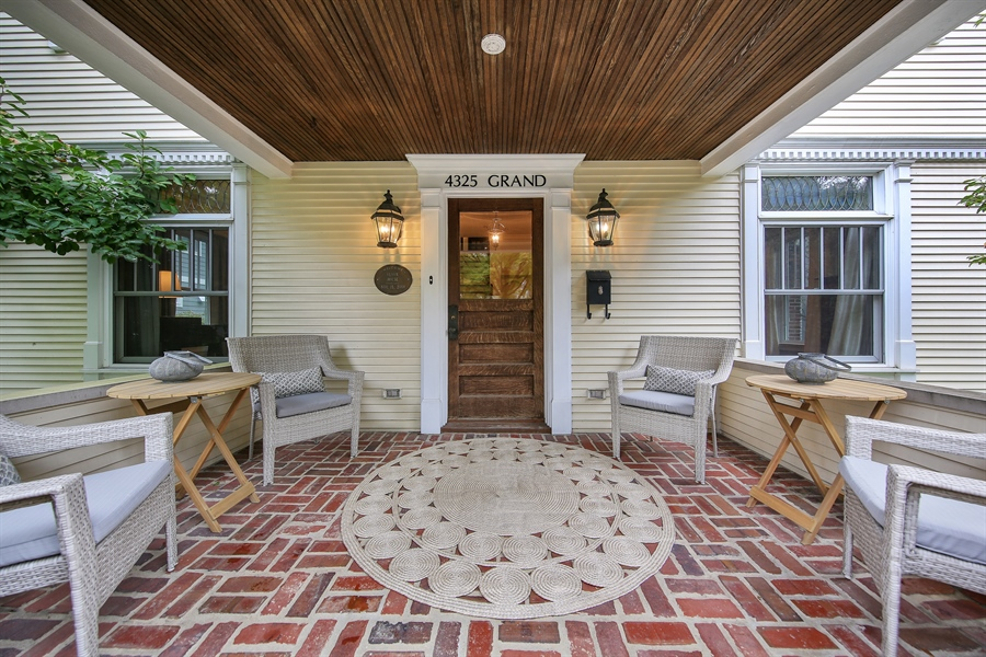 Real Estate Photography - 4325 Grand Avenue, Western Springs, IL, 60558 - Patio