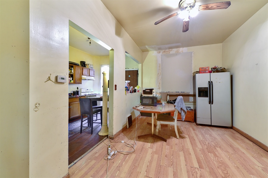 Real Estate Photography - 6708 S Parnell Ave, Chicago, IL, 60621 - Dining Room
