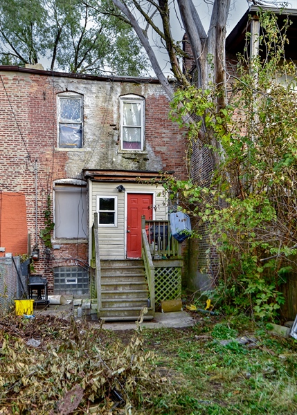 Real Estate Photography - 6708 S Parnell Ave, Chicago, IL, 60621 - Back Yard