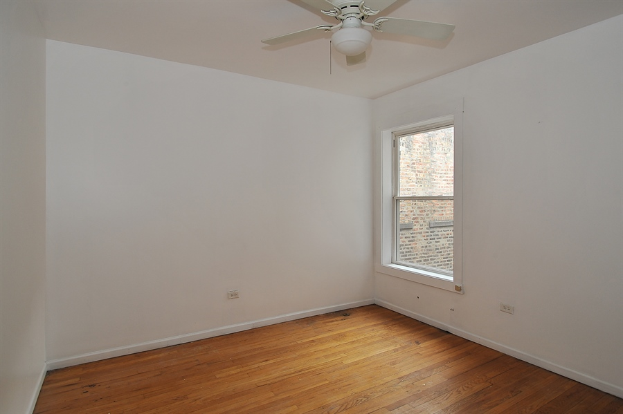 Real Estate Photography - 1507 E 69th Pl, Chicago, IL, 60637 - Master Bedroom