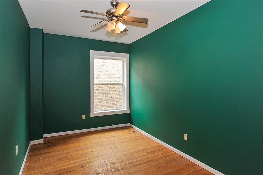 Real Estate Photography - 1507 E 69th Pl, Chicago, IL, 60637 - 2nd Bedroom