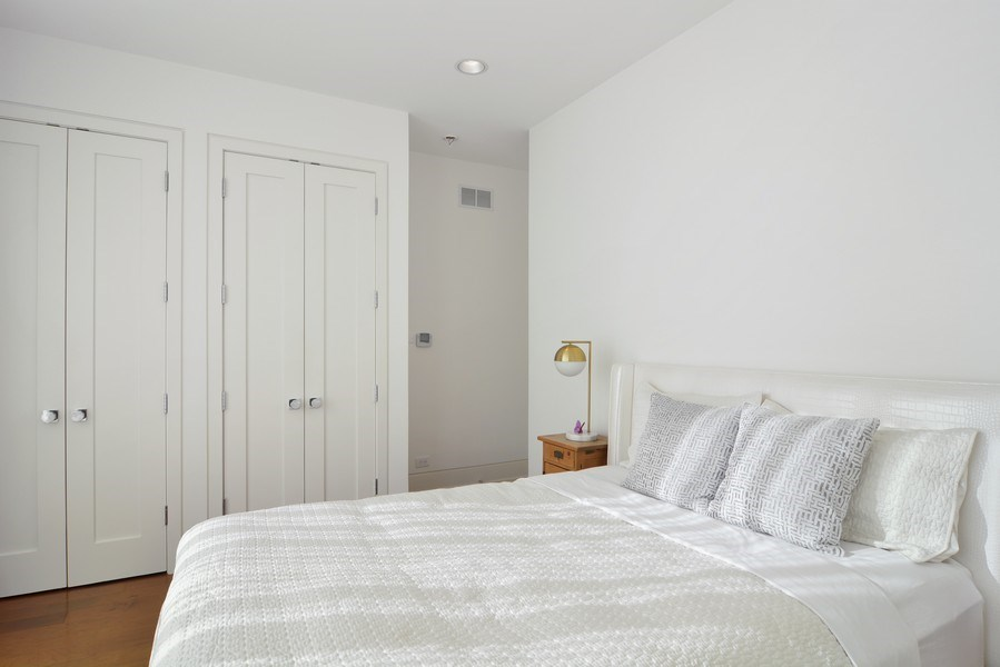 Real Estate Photography - 520 N Armour, Chicago, IL, 60642 - 2nd Bedroom