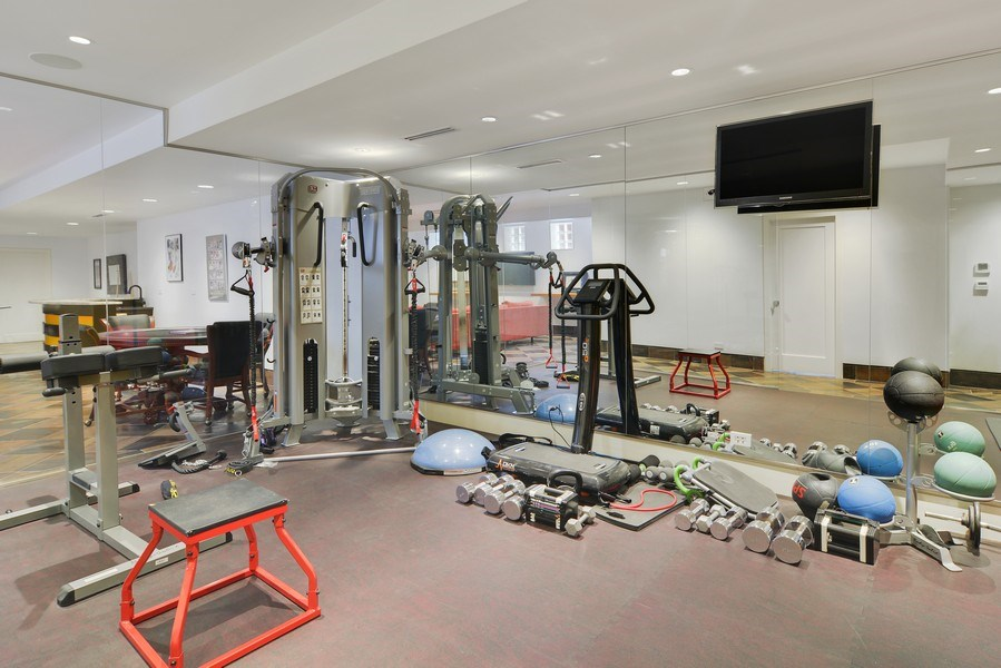 Real Estate Photography - 520 N Armour, Chicago, IL, 60642 - Gym