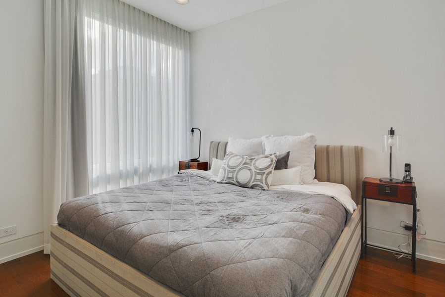 Real Estate Photography - 520 N Armour, Chicago, IL, 60642 - 4th Bedroom