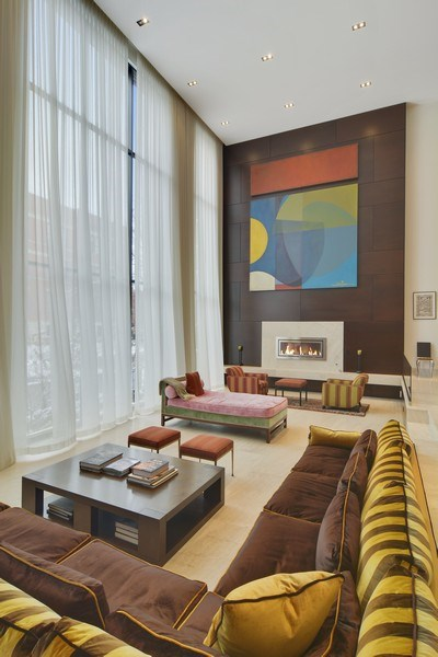Real Estate Photography - 520 N Armour, Chicago, IL, 60642 - Living Room