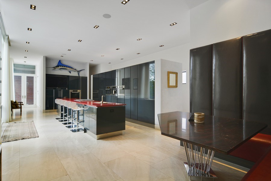 Real Estate Photography - 520 N Armour, Chicago, IL, 60642 - Kitchen / Breakfast Room