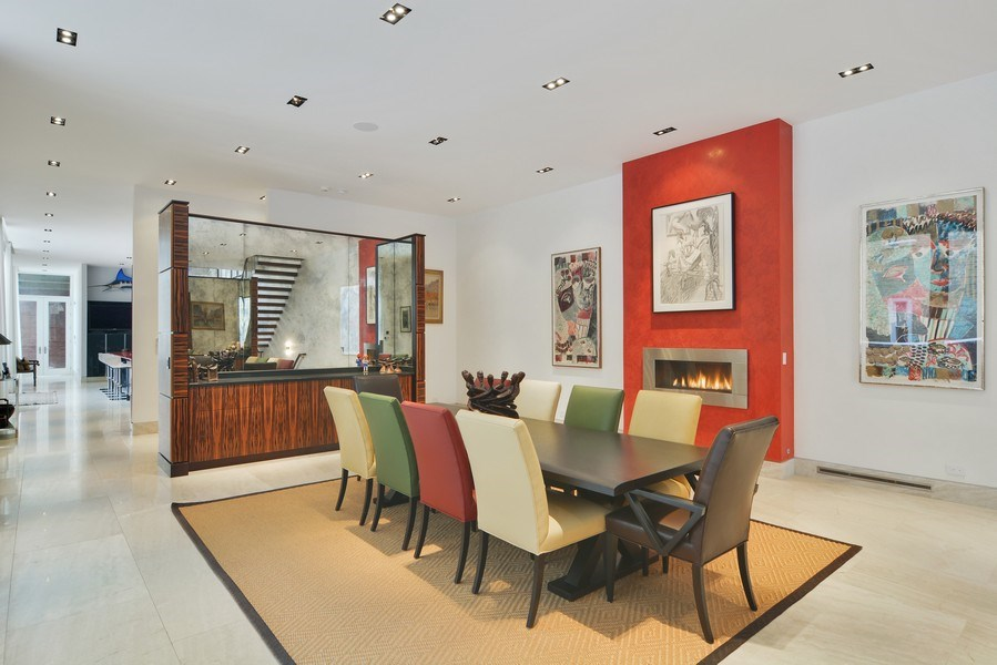 Real Estate Photography - 520 N Armour, Chicago, IL, 60642 - Dining Room