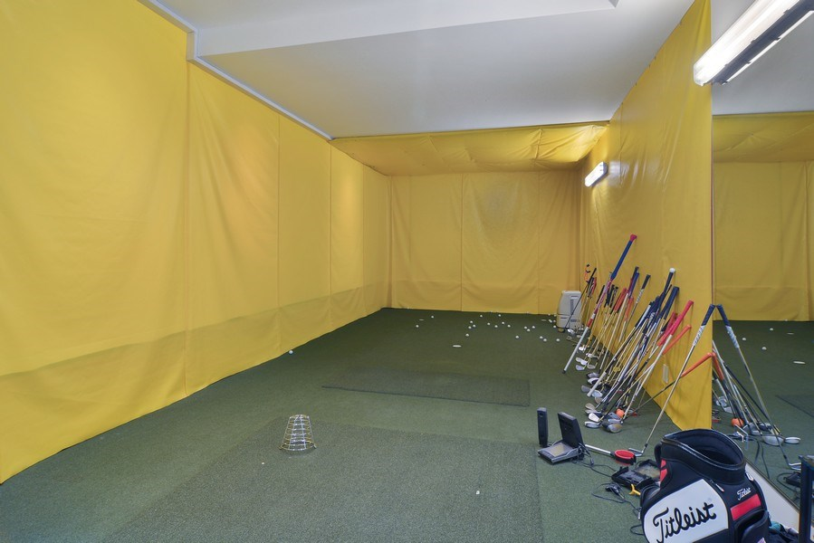 Real Estate Photography - 520 N Armour, Chicago, IL, 60642 - Indoor Driving Range