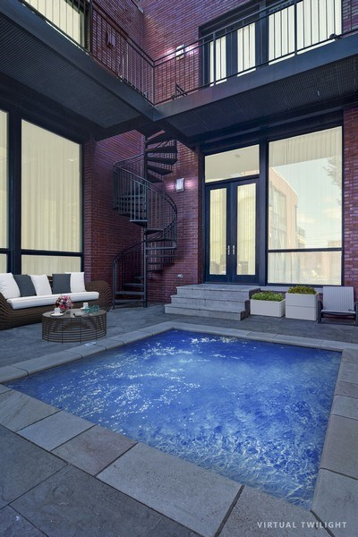 Real Estate Photography - 520 N Armour, Chicago, IL, 60642 - Pool