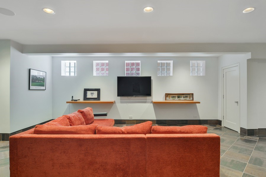 Real Estate Photography - 520 N Armour, Chicago, IL, 60642 - Family Room