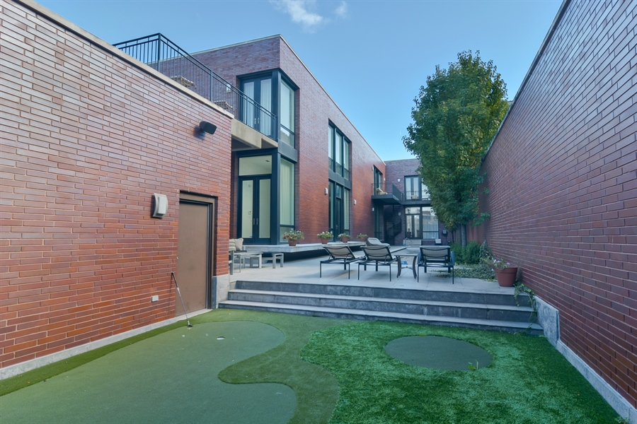 Real Estate Photography - 520 N Armour, Chicago, IL, 60642 - Rear View