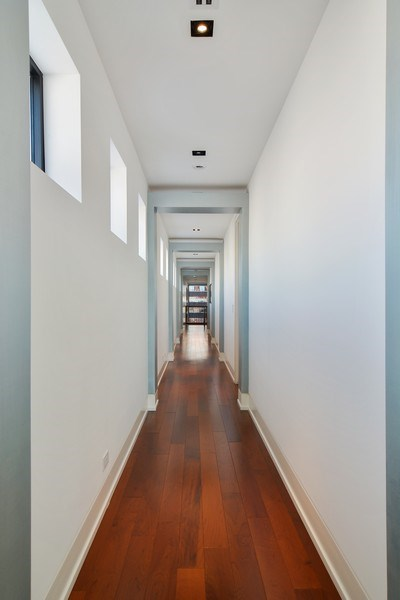 Real Estate Photography - 520 N Armour, Chicago, IL, 60642 - Hallway