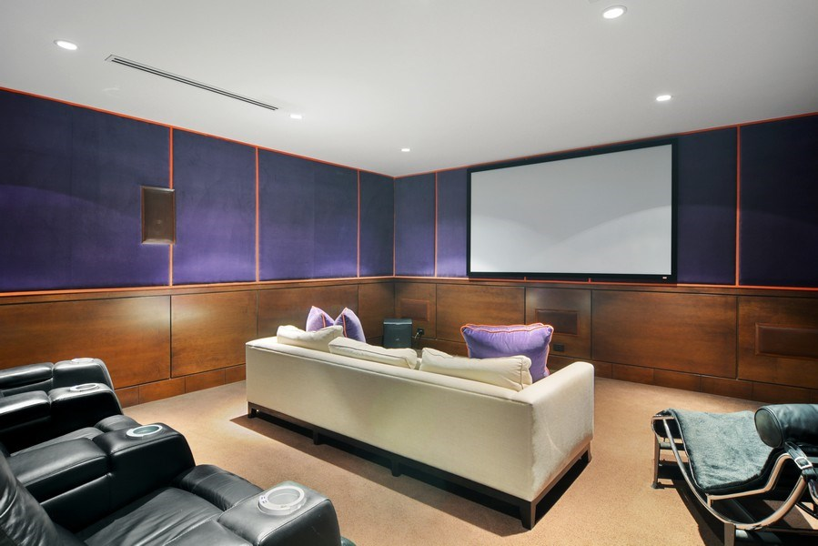 Real Estate Photography - 520 N Armour, Chicago, IL, 60642 - Theater