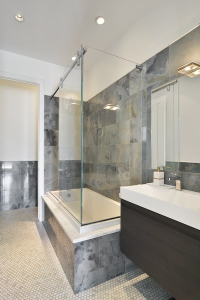 Real Estate Photography - 520 N Armour, Chicago, IL, 60642 - Bathroom