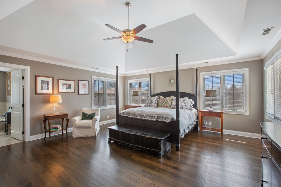 Real Estate Photography - 937 Kenyon St, Downers Grove, IL, 60516 - Master Bedroom
