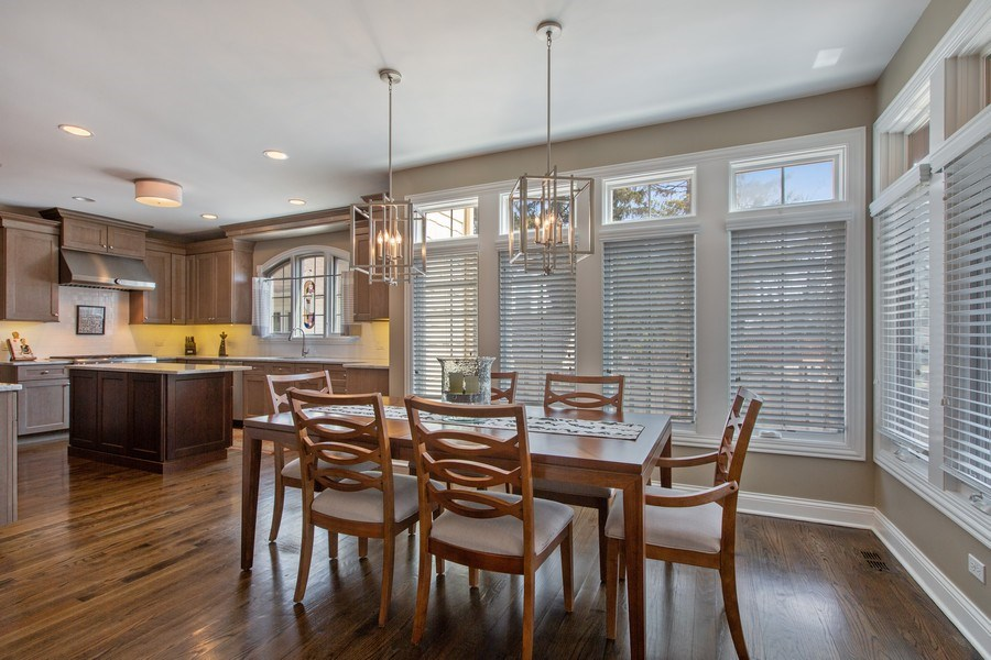 Real Estate Photography - 937 Kenyon St, Downers Grove, IL, 60516 - Kitchen / Breakfast Room
