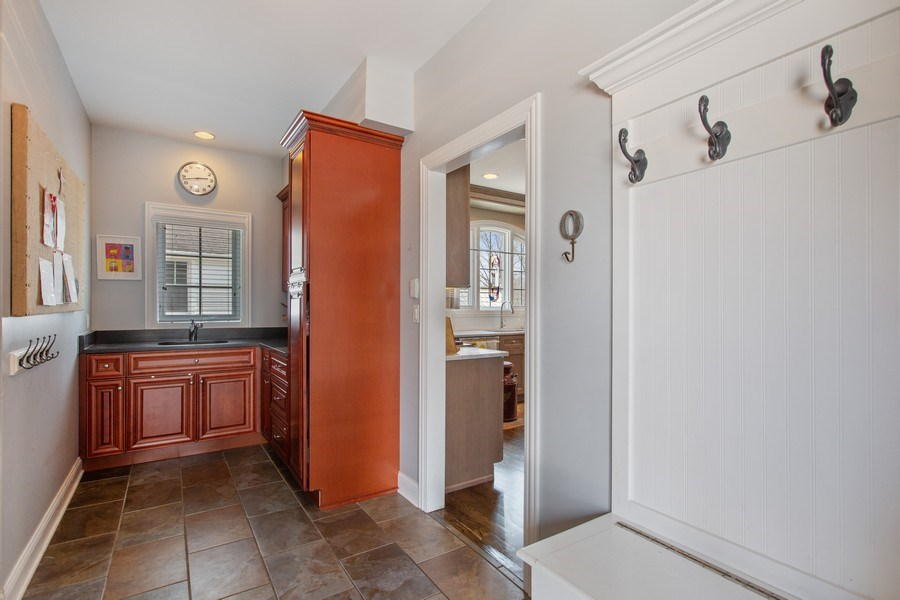 Real Estate Photography - 937 Kenyon St, Downers Grove, IL, 60516 - Mudroom