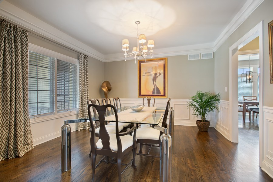 Real Estate Photography - 937 Kenyon St, Downers Grove, IL, 60516 - Dining Room
