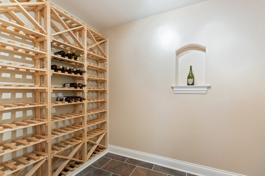 Real Estate Photography - 937 Kenyon St, Downers Grove, IL, 60516 - Wine Cellar