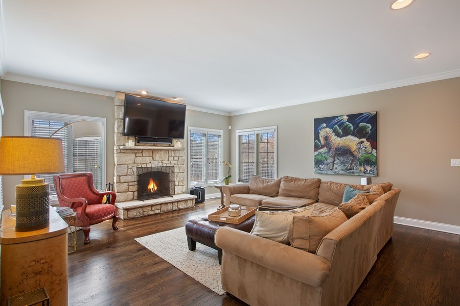 Real Estate Photography - 937 Kenyon St, Downers Grove, IL, 60516 - Family Room