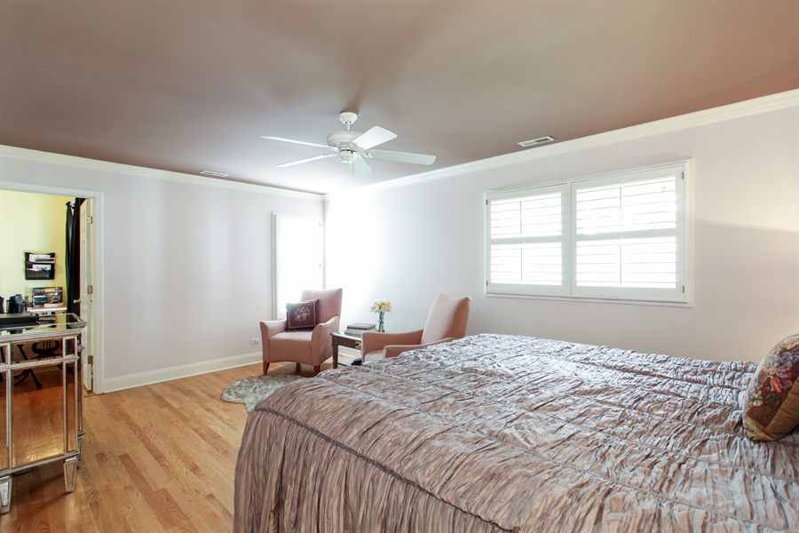 Real Estate Photography - 65 Harris, Clarendon Hills, IL, 60514 - Master Bedroom