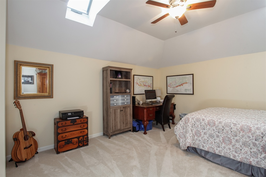 Real Estate Photography - 65 Harris, Clarendon Hills, IL, 60514 - 2nd Bedroom