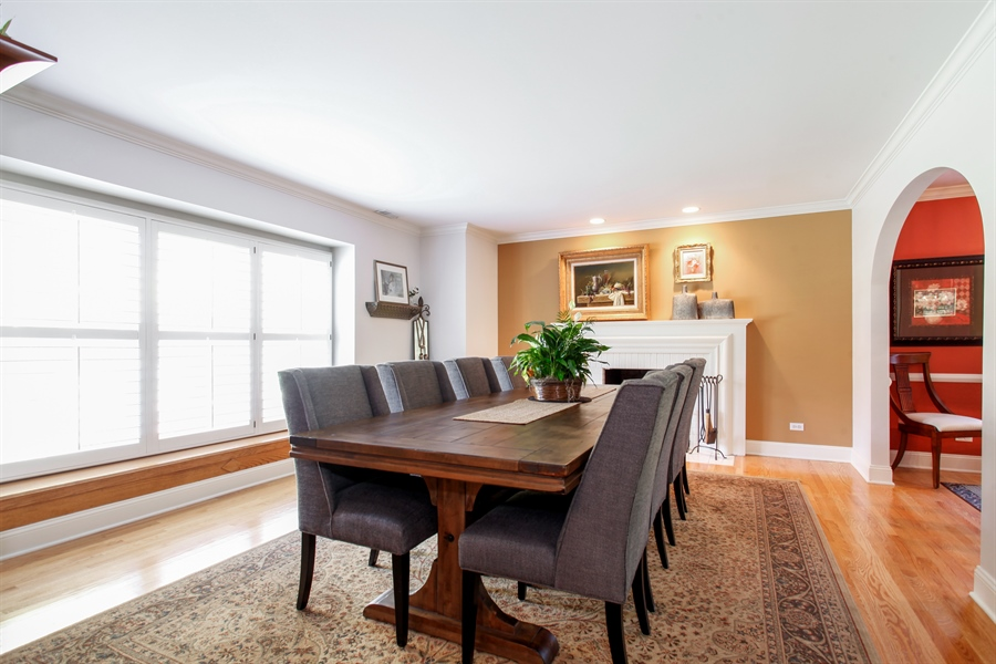 Real Estate Photography - 65 Harris, Clarendon Hills, IL, 60514 - Dining Room