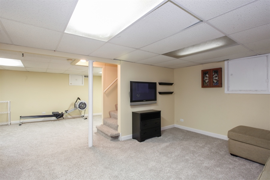 Real Estate Photography - 65 Harris, Clarendon Hills, IL, 60514 - Basement